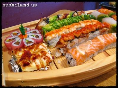 Sushi Sashimi Boat